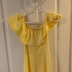 1. State yellow sundress size 0